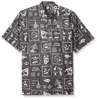 Reyn Spooner Men's Stories from The East Spooner Kloth Classic Pullover Shirt