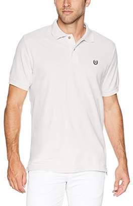Chaps Men's Classic Fit Cotton Mesh Polo Shirt