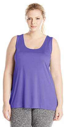 2ae7327c1a2675 Just My Size Womens Cool DRI Scoop-Neck Tank Top