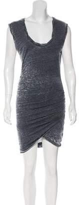 Pam & Gela Sleeveless Midi Dress