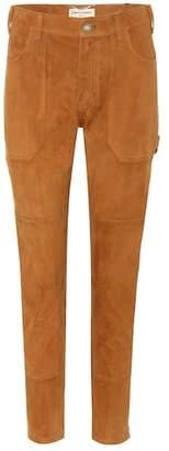 Saint Laurent Suede trousers