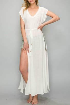 AAKAA Maxi Coverup Dress
