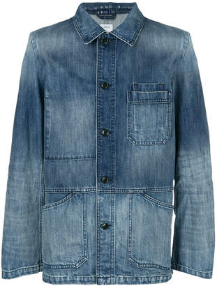 Closed light-wash fitted denim jacket
