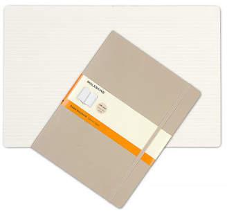 Moleskine NEW Classic Soft Cover X-Large Ruled Notebook Khaki