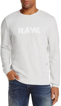 G-STAR RAW Hodin Logo Sweatshirt $110 thestylecure.com