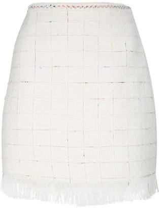 Claudie Pierlot Tweed Mini Skirt