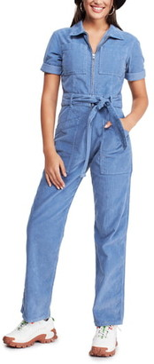 BDG Urban Outfitters Belted Corduroy Jumpsuit