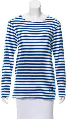 Golden Goose Striped Long Sleeve Top