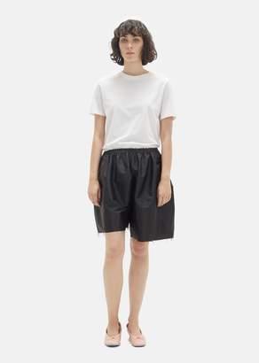 Phoebe English Slanting Shorts Black