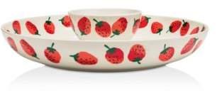 Kate Spade Chip and Dip Bowl, Strawberries