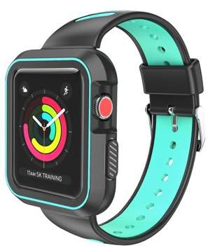 SUMACLIFE Luxury Two Tone Sports Band For Apple Watch Series 3, Series 2, Series 1 - 42mm