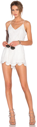 Lovers + Friends x REVOLVE Songbird Romper $168 thestylecure.com