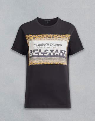Belstaff Perrins Leopard Graphic T-Shirt