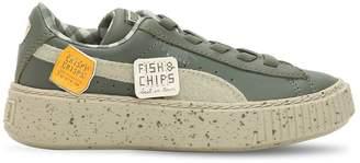 Puma X Tiny Cottons Leather Platform Sneakers