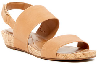 Easy Spirit Noal Leather Sandal $79 thestylecure.com