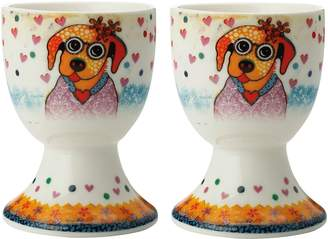 Maxwell & Williams Smile Style Posey Egg Cup (Set of 2)