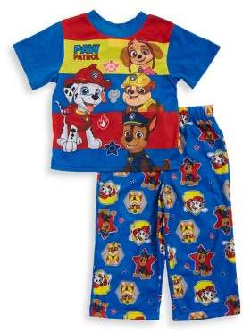 AME Sleepwear Little Boy's Paw Patrol Two-Piece Pajama Top and Bottom Set
