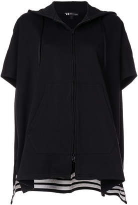 Y-3 hooded cape