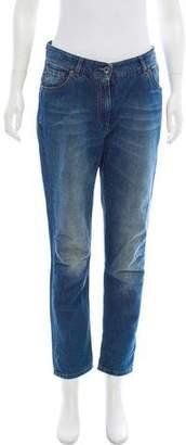 Gunex Mid-Rise Straight-Leg Jeans