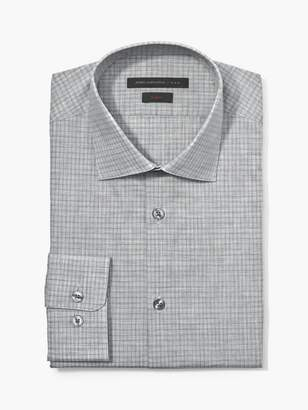 John Varvatos Slim Fit Melange Check Shirt