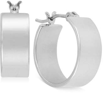 Kenneth Cole New York Silver-Tone Small Hoop Earrings
