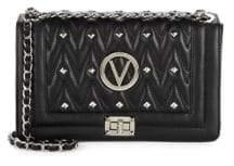 Mario Valentino Aliced Studded Leather Shoulder Bag
