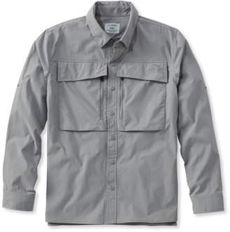 L.L. Bean L.L.Bean Men's Ultimate Fishing Shirt, Long-Sleeve