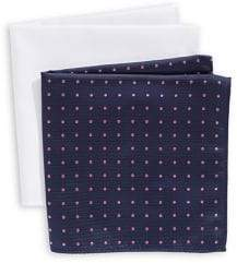 Tommy Hilfiger Set of Two Pocket Squares