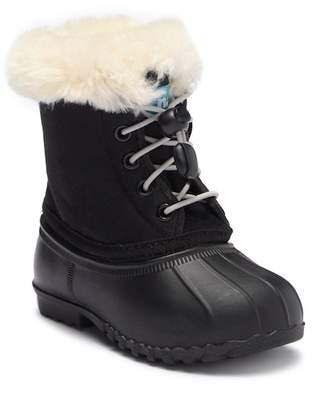Native Jimmy Faux Fur Lined Weatherproof Boot (Baby, Toddler & Little Kid)