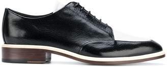 Lanvin two-tone Derby shoes