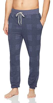 Kenneth Cole Reaction Men's Printed Plaid Jogger