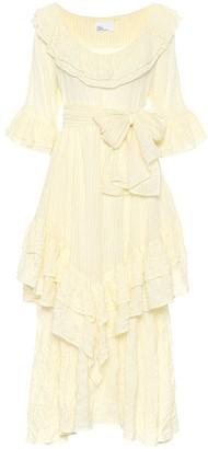 Lisa Marie Fernandez Laura striped cotton dress