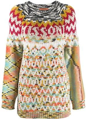 Missoni patterned knit jumper