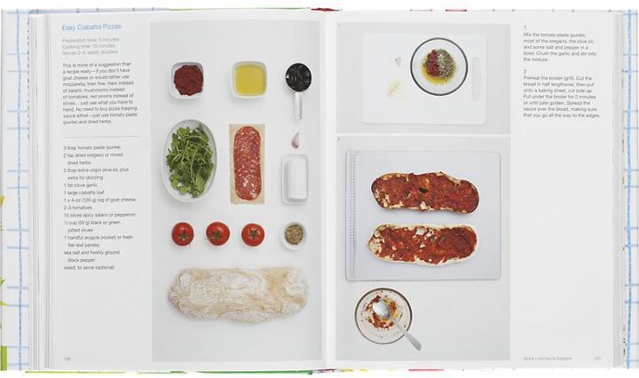 Crate & Barrel Fresh & Easy Cookbook