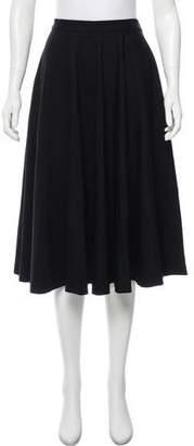 Tomas Maier Knit Knee-Length Skirt