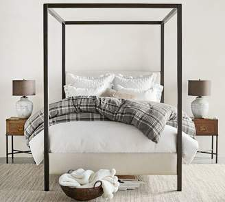 2e31382e85cc51 Pottery Barn Atwell Metal Canopy Bed