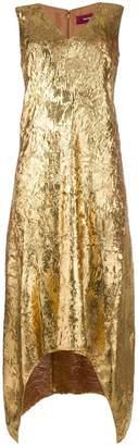Sies Marjan creased metallic dress