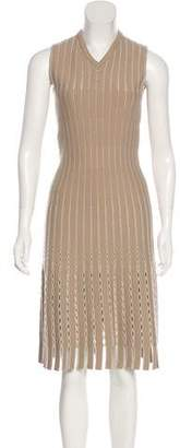 Alaia Open Knit Midi Dress w/ Tags