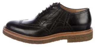 Dries Van Noten Leather Brogue Oxfords w/ Tags