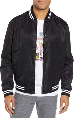 BOSS x Jeremyville Ceremy Reversible Varsity Jacket