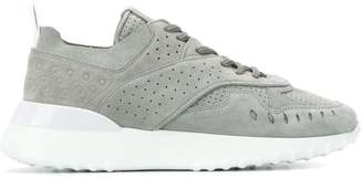 Tod's contrast sole sneakers