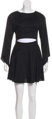 Intermix Bell Sleeve Cutout Dress w/ Tags