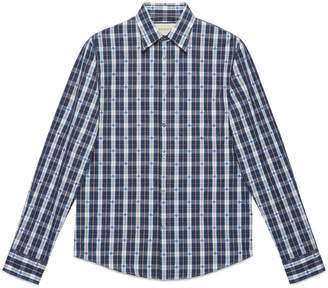 Gucci Bee fil coupé Duke shirt