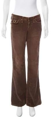 Joe's Jeans Mid-Rise Corduroy Pants