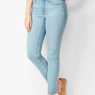 Talbots Slim Ankle Jeans - Solar Wash - Curvy Fit