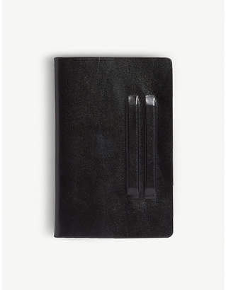 Rick Owens Flat leather wallet
