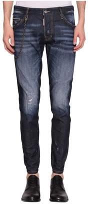 DSQUARED2 Sexy Twist Cotton Denim Jeans
