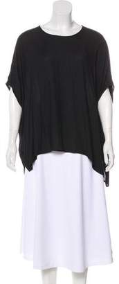 James Perse Short Sleeve Oversize Top