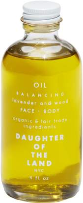 DAUGHTER OF THE LAND Balancing Lavender & Wood Face & Body Oil