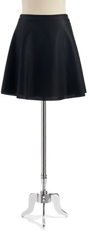 Vince Camuto Faux Leather Mini Skirt